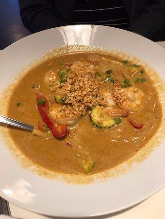 shrimp panang curry