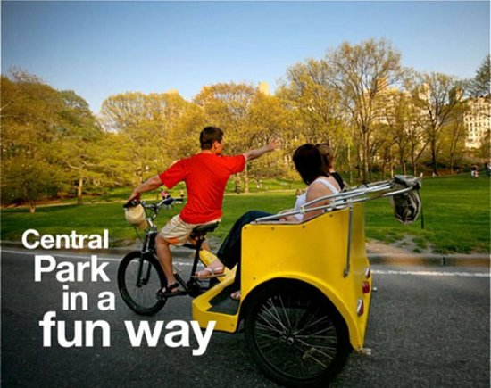 ‪Official Central Park pedicab Tours‬
