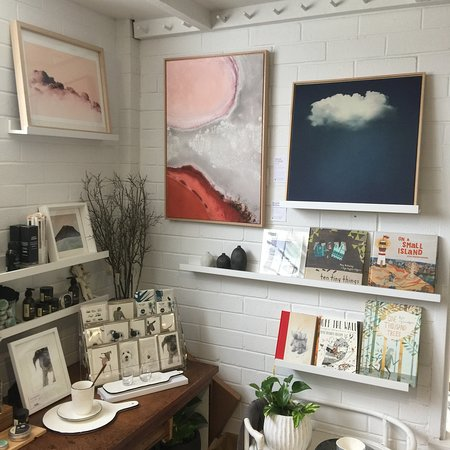 Plenty of art & gifts in our little retail store....