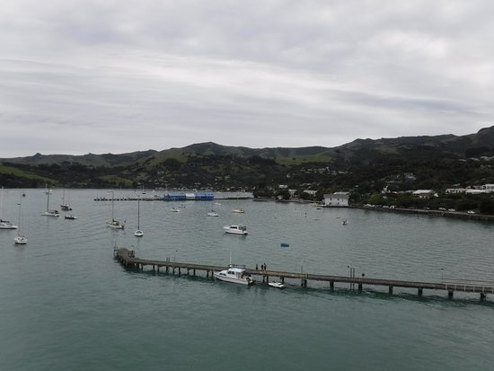 Akaroa Lighthouse: Harbour view