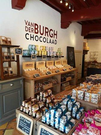 Van den Burgh chocolaad
