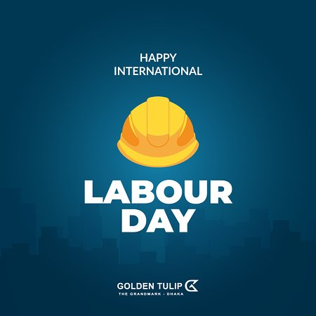 Hard work never goes to waste. Golden Tulip the Grandmark Dhaka wishes all hard working people out there a very Happy Labor day