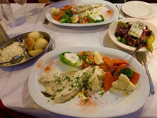 Real Greek food & value for money