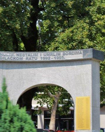 Jablanica, Bosnia-Hercegovina: Il Monumento