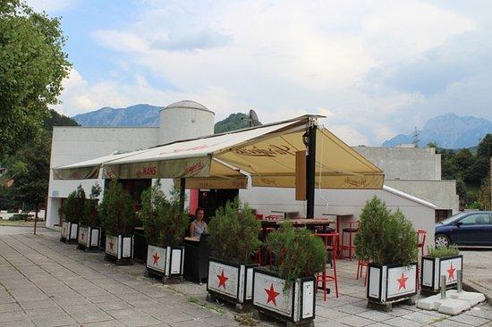 Jablanica, Bosnia-Hercegovina: Caffe Bar NANS