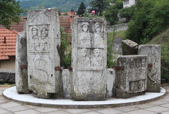 Arheološki spomenici u sklopu Parka na Vardi