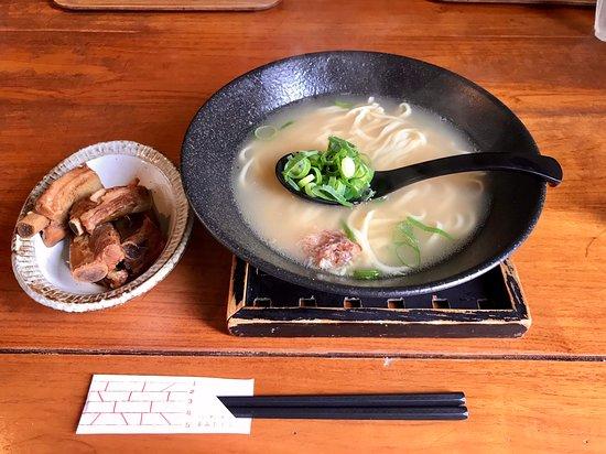 Syuri Horikawa: あっさりな味のソーキそば