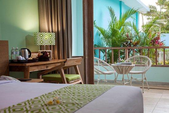 Mahagiri Resort: Peaceful garden view room 💚
