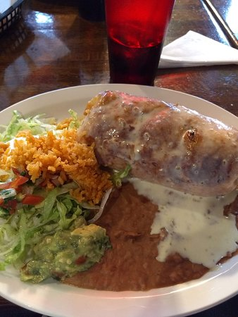 Clermont, IN: Chimichanga! Chicken, beef, and shrimp