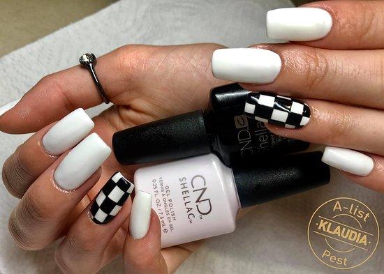 A-list Salon & Spa: Fekete fehér, egyszerű de mégis nagyszerű árnyalatok!