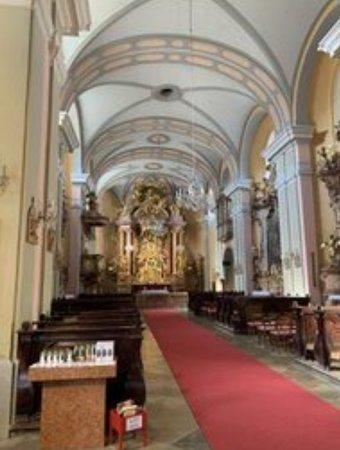 Wiener Neustadt, Austria: Kirche Innen