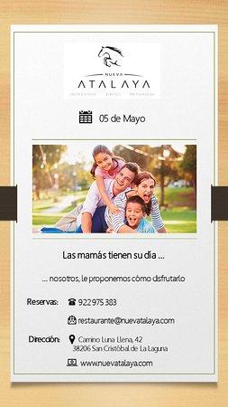 Un espacio ideal para celebrar, en familia, el día de la Madre, 05 de mayo.