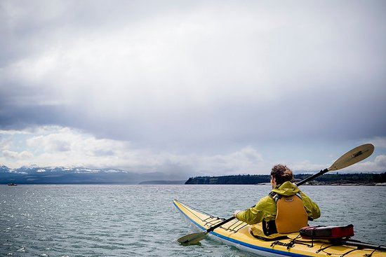 Hollyhock, Cortes Island - Sea Kayaking Adventures with Michael Moore
