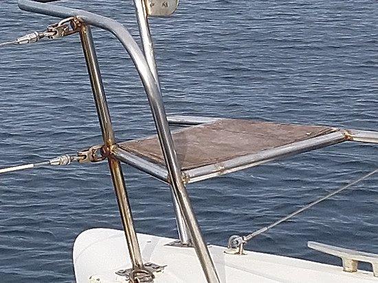Catamaran Evasion: Strapontin