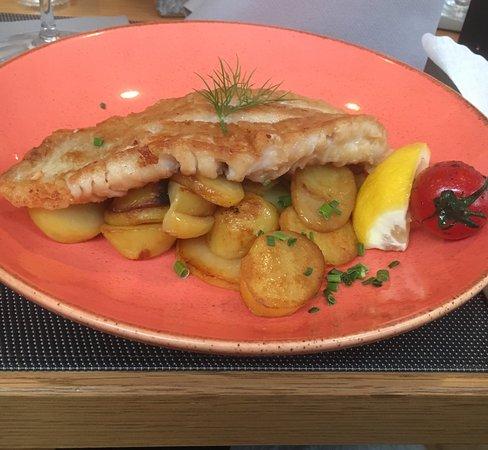 Fishrestaurant Seefahrtsklause: Fisch wieder perfekt, bei den Kartoffelprodukten gibt's deutliches Verbesserungspotenzial...🤔