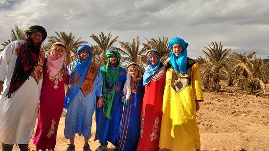 Viaja a Marruecos : tipo berebere en nuestro viaje al sahara