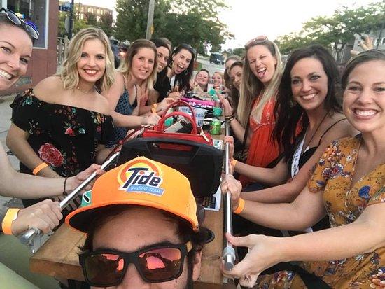 Sheboygan, Wisconsin: Bachelorette party on Shebikin' was amazing! 