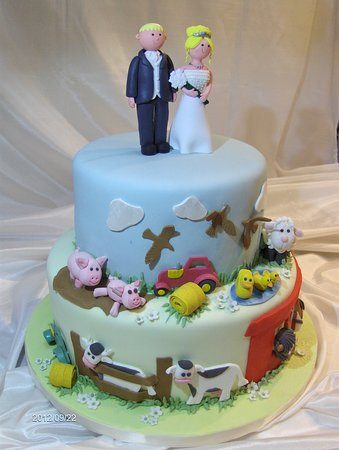 wedding cake with a difference!