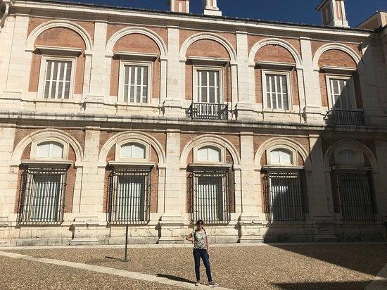 Royal Palace of Aranjuez: Patio interno del Palacio