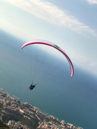 Paragliding Jounieh Club Thermique on BBC LBCI MTV and list goes on  Best deal price safe insured certified parapente Liban Paragliding Lebanon 03933359 Harissa Ghosta best outdoor activity in Lebanon Beirut Jounieh لبنان جونية parachute Best paragliding Pilots in Lebanon Elie Mansour Raja Saade