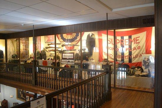 Helena Museum of Phillips County: upstairs.