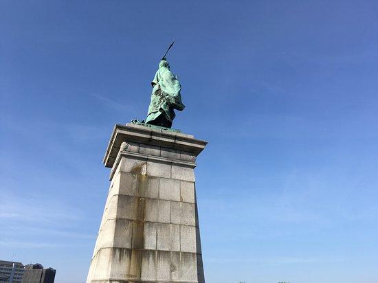 Bronze Statue of Kameyama Joko