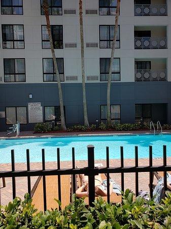 Feel like taking a swim in the heated pool?