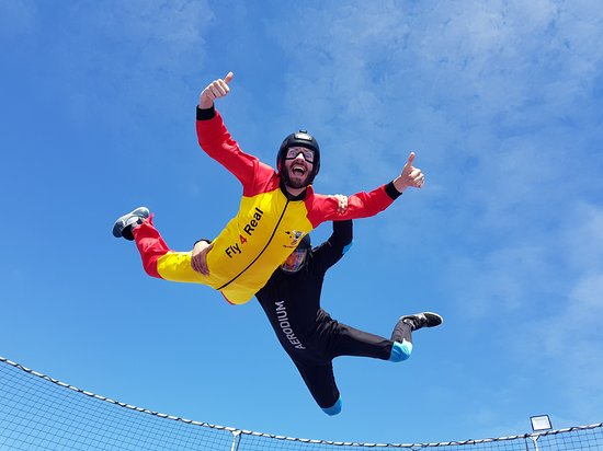 Campillos, Espagne: SPAIN'S FIRST OUTDOOR SKYDIVING SIMULATOR
