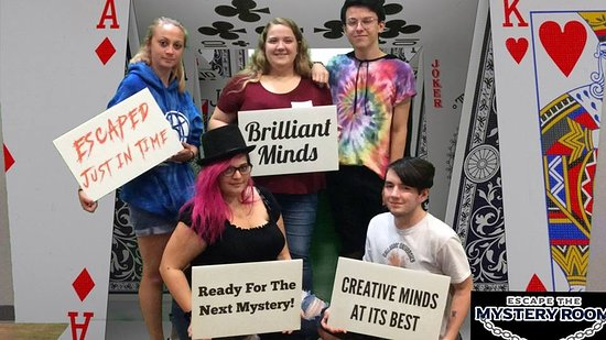 Escape The Mystery Room