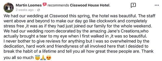 Come along to our Dirty Dancing Tribute Night on Saturday, April 27th 2019. - Picture of Cisswood House, Lower Beeding - Tripadvisor