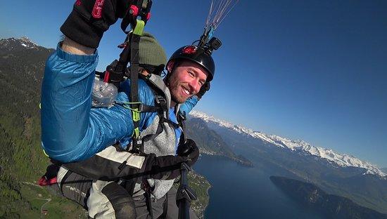 Zurigo, Svizzera: I was able to try flying myself!