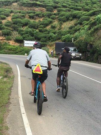 Beautiful cycling thru Sri Lanka countryside