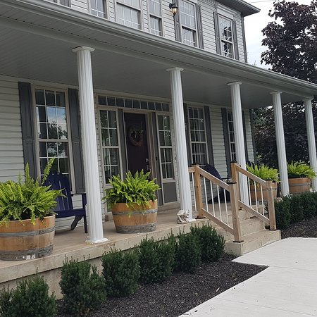 Sip the sunset away at Wine on the 1st B&B