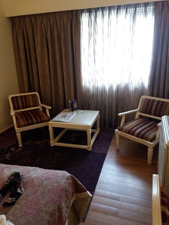 Hotel Bawa International: Seating are in executive room