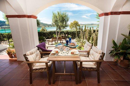 Balcony - Picture of Finca El Arpa, El Chorro - Tripadvisor