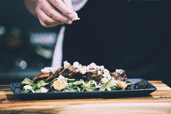 Cattle Baron Paarl - Salad Preparation