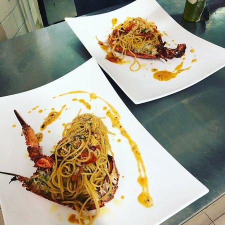 Spaghetti all astice