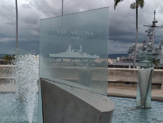 Pearl Harbor Memorial Fountain