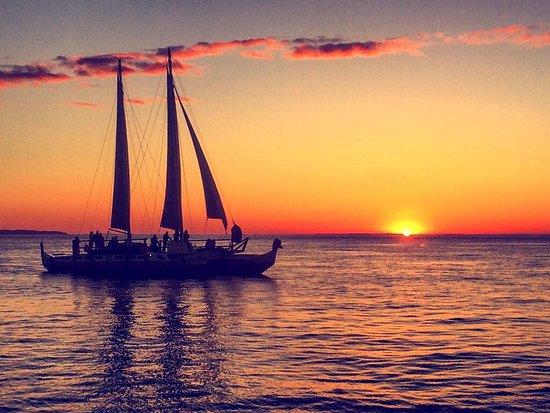 Sailing Montauk's Catamaran Mon Tiki