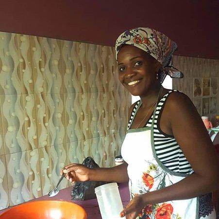Kili view Tanzanian cooking class