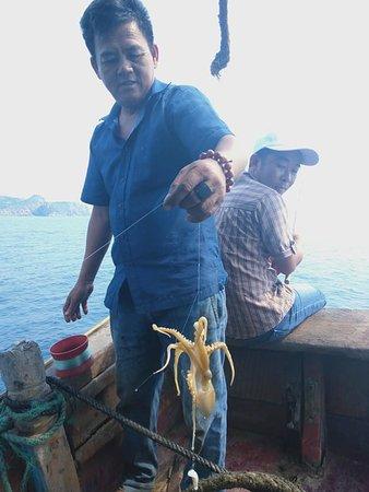 Hoai Nhon, เวียดนาม: many fish, octopus.