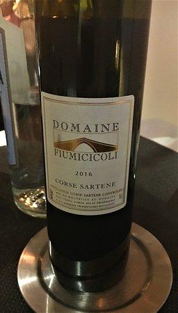A la Chataigne: A hearty Corsican red wine