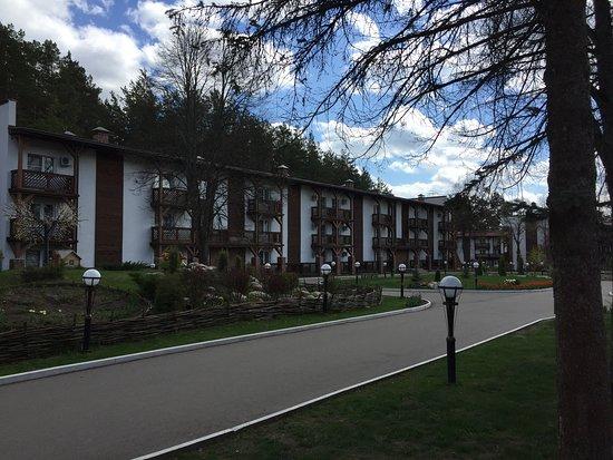 Отель с красивой территорией и большим количеством недостатков