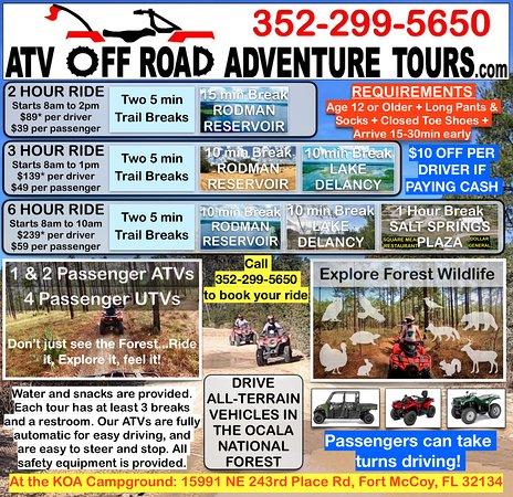 ATV Off-Road Adventure Tours
