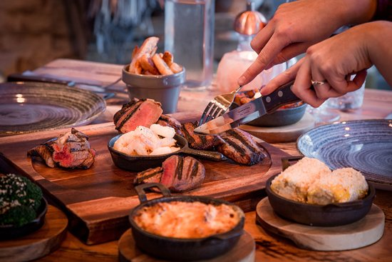 Serving Himalayan salt dry-aged steaks, Wagyu and other great local meat, fish & vegetarian dishes.
