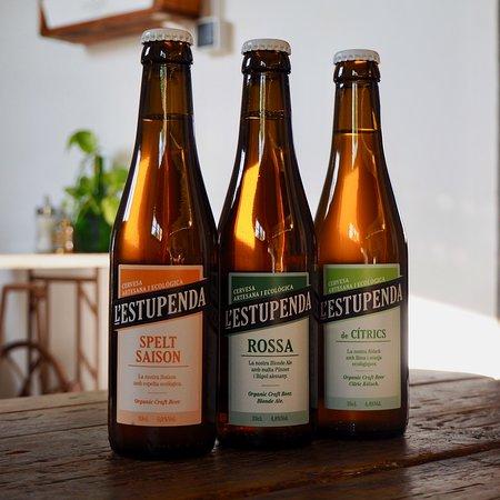 Les Escales: Cerveses artesanals