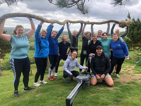 Bridport, UK: A photo From our May 2019 5 Day fitness boot camp holiday UK.  www.rebootdorset.com