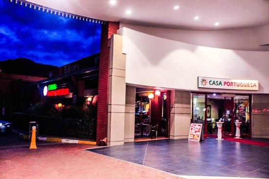 Casa Portuguesa Botswana: Our Main Entrance @Game city Shopping Complex