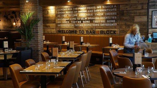 Interior - Picture of Bar + Block Steakhouse, Nottingham - Tripadvisor