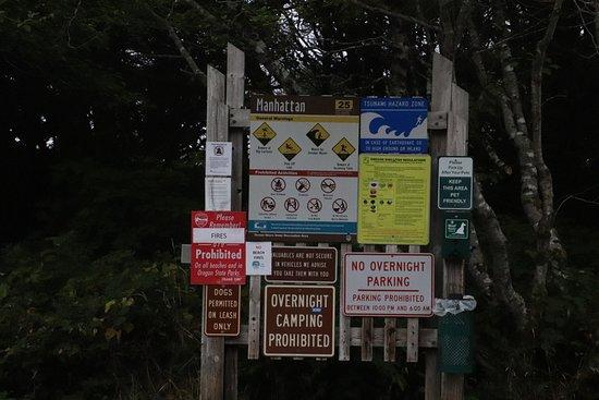 Rockaway Beach, OR : Manhattan Beach State Recreation Site